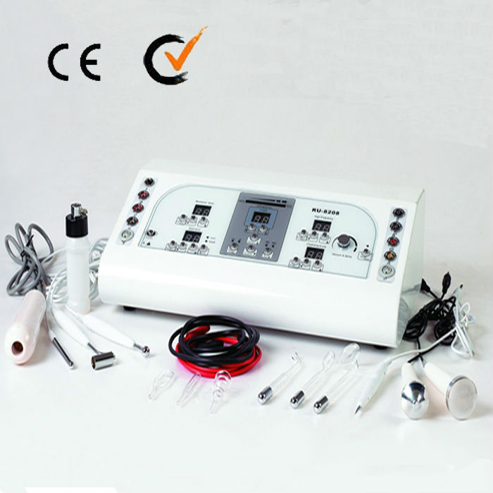 AU-8208 8 in 1 Facial Machine/Remove Spot/Ultrasonic Equipment