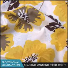 Classic design soft printed breathable composition floral cotton fabrics poplin