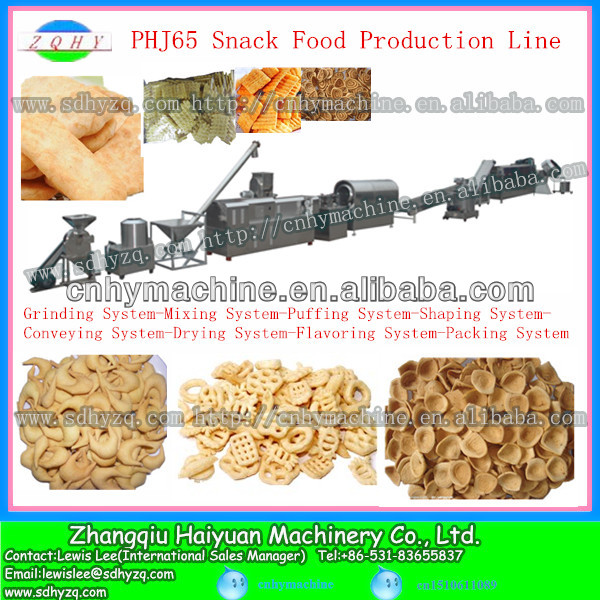Corn flakes snack food production line