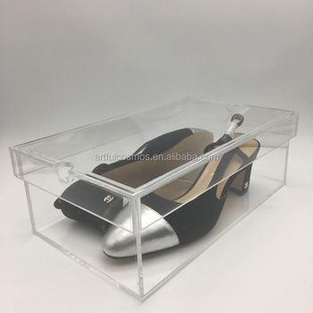 Box Shoe Glass Storage Box For Nike Shoes