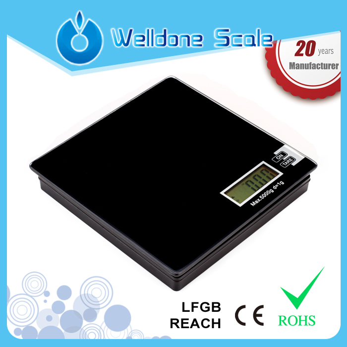 Welldone High Accuracy Mini Electronic Digital Jewelry Weigh Scale Balance Pocket Gram Electronic Scales JW-205