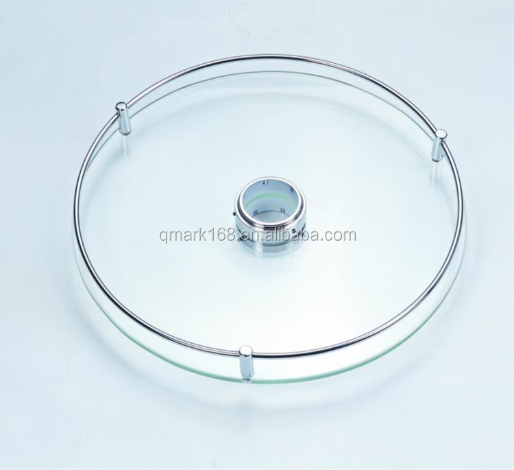 Accessori Per Mensole In Vetro.Da Cucina In Metallo Bar Sistema Palo 360 Girevole Mensola Di