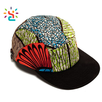 24955ba1a5e African print 5 panel hats Snapback hat watermelon wholesale trucker hat no  mesh with string