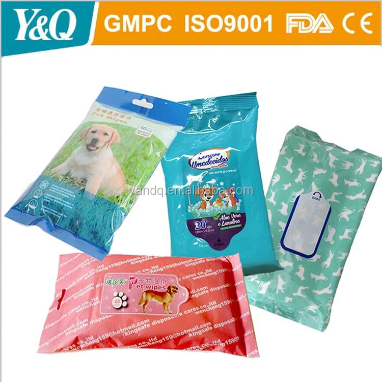 free sample pet wet wipes and pet cleaning wet wipes welcome oem&odm