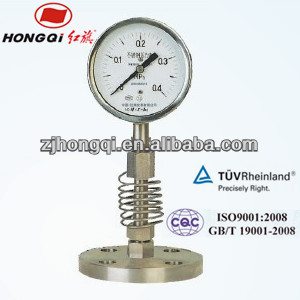 YTP-100MG wise pressure gauge manometer/hydraulic pressure gauge manometer/nature gas pressure gauge manometer 0~0.4Mpa
