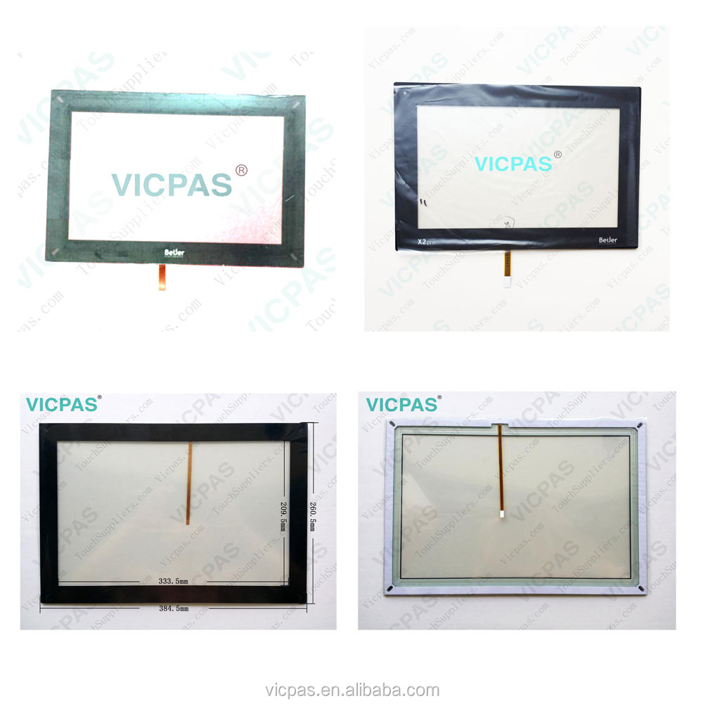 Touch screen panel for KDT544 with overlay label replacement VICPAS345