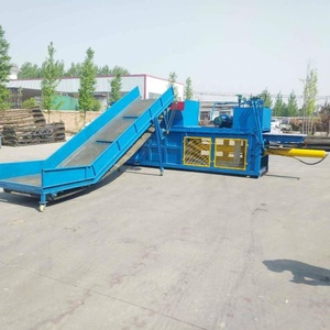 CE ZW Waste paper baling machine/hydraulic carton compress baler packing machine