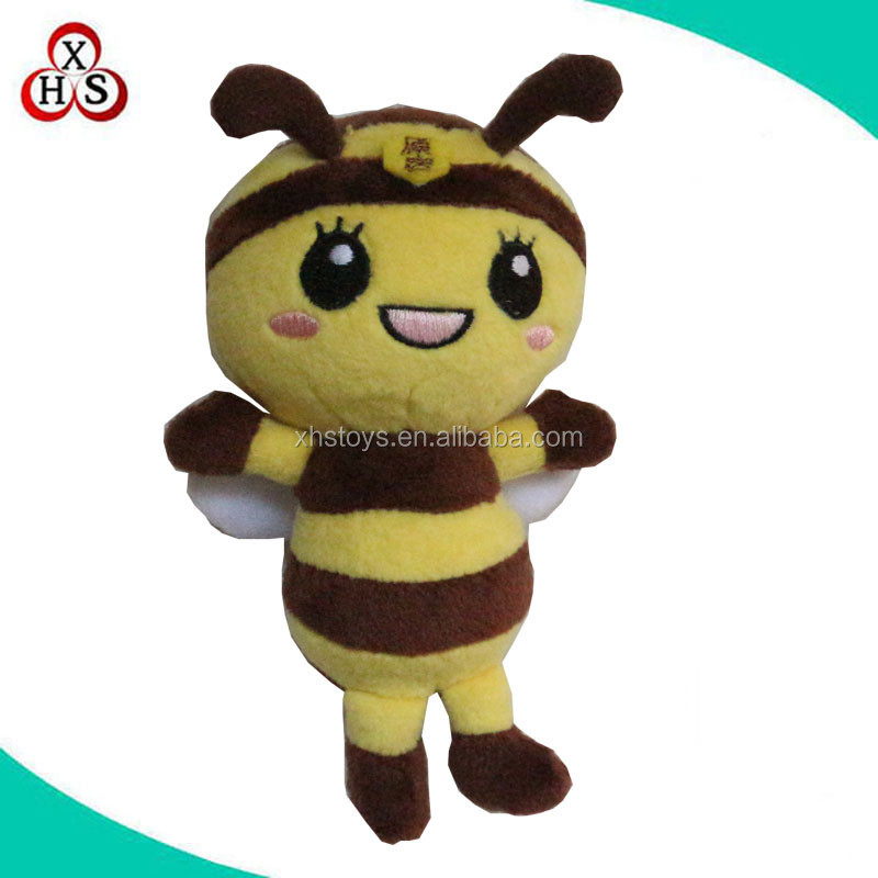 top selling cheap bee plush toys custom bee plush toy factory wholesale