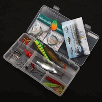 Pike/Walleye Fishing Tackle Lures Spin Box Kit for Gift on Online Sale