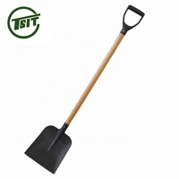 european plastic grip grain heated snow shovel