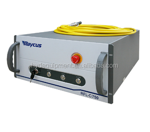 China Raycus 750W laser power source on fiber laser cutting machine