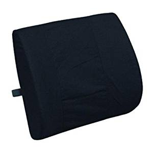 Lumbar Cushion - Gray color, this lumbar support office chair back cushion helps the lumbar and sacral region of the spinal column. This Lumbar support helps to keep a good posture while sitting and also prevents spinal column problems, it is ideal for those who work all day at the office.