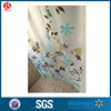 Printed window liners design PEVA shower curtain plastic bath curtain