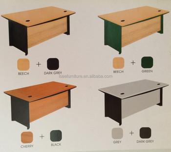 Melamina Mesa Moderna Oficina Personal De Escritorio Muebles De ...