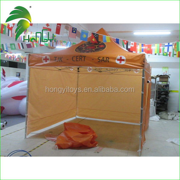 Custom Canopy Best Price Brown Portable Folding Tent With UV Painting