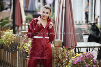 Lady One Piece Rain Suits