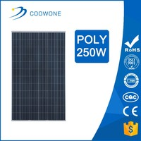 High efficiency large poly solar panel 250w painel solar fotovoltaico paineis solares for home