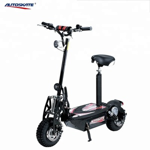Cheap 2 wheel 1000W electric scooter with seat