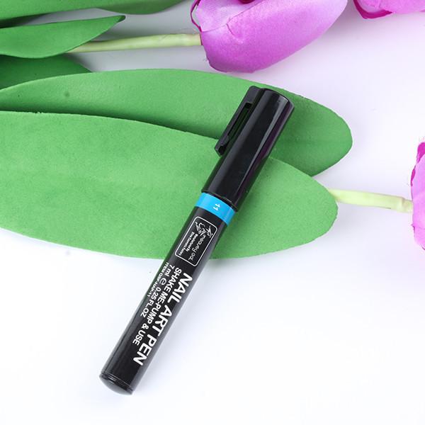 Acrílico Uv Gel Diseño 3d Nail Art Pen Pintura Tubo 16 Colores De ...