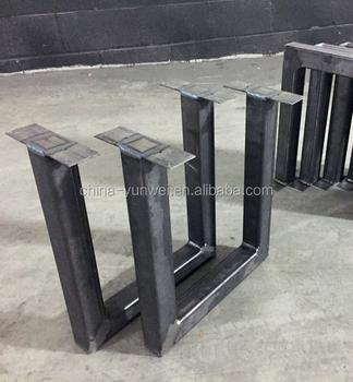 furniture leg type antique cast iron metal table base black u legs rh alibaba com metal table base chicago metal table bases for sale