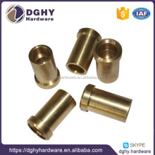 High precision brass and aluminum parts cnc machining brass metal and aluminum stamping parts boat parts