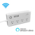 Xenon 4 Outlet Wifi Smart Power Strip Surge Protector ,work with Alexa,smart phone remote control