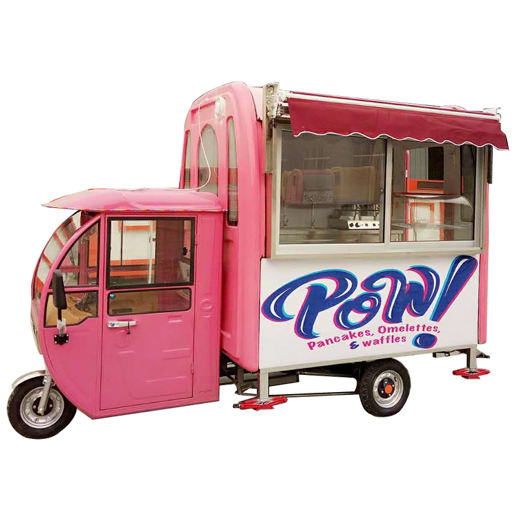 Smart Hotdog Ice Cream Customized Mobile Vendor Food Cart Design Philippines With Shipping By Sea Traveling Home Appliances