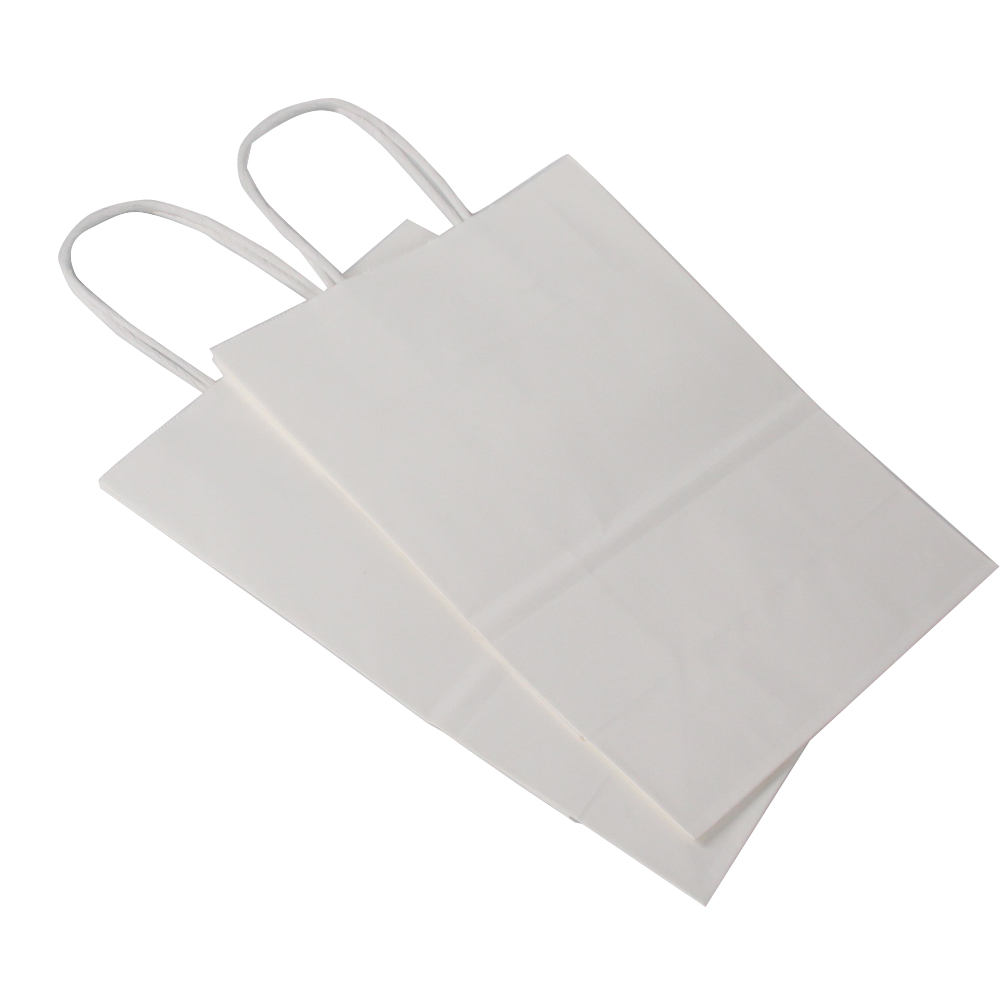 Custom Eco Friendly Kraft Paper Bags Printing For Shopping