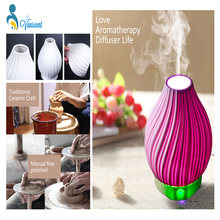 7 Colors Changing Ceramics Aroma Diffuser Aromatherapy Humidifier Diffuser Commercial Aroma Diffuser