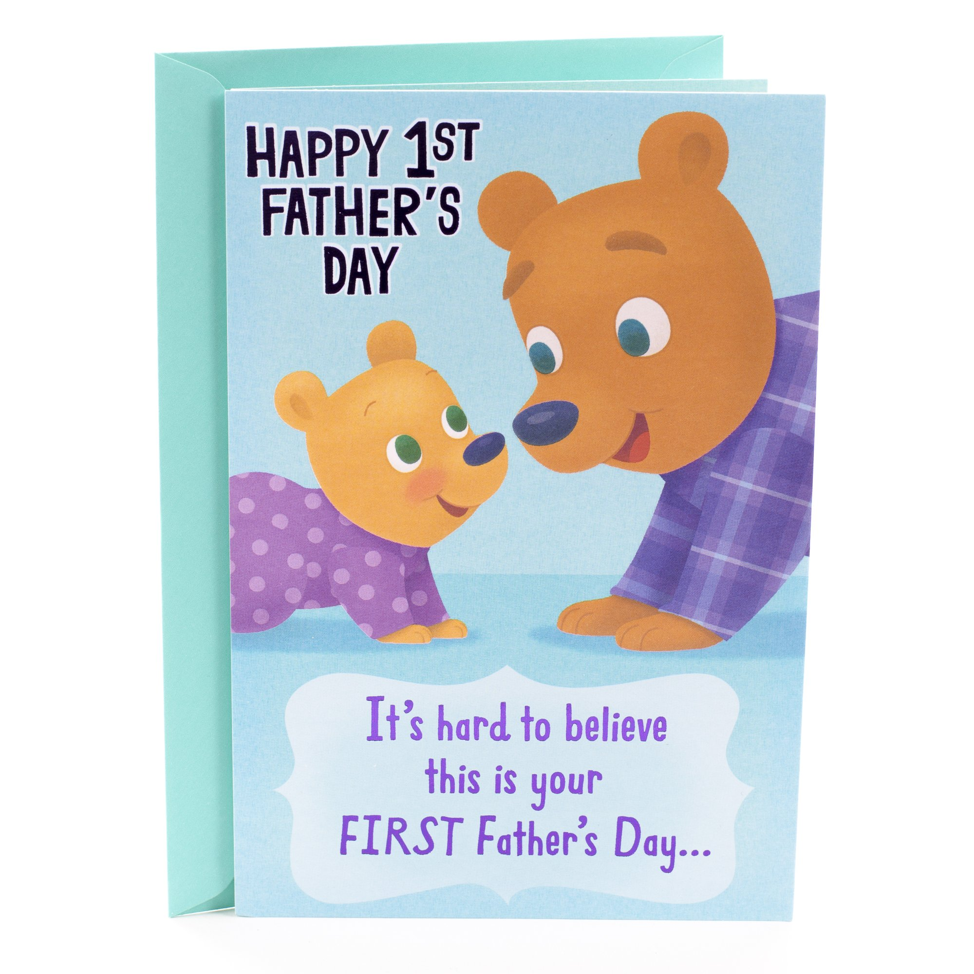 Cheap christian father day find christian father day deals on line get quotations hallmark fathers day greeting card for daddy first fathers day cute m4hsunfo