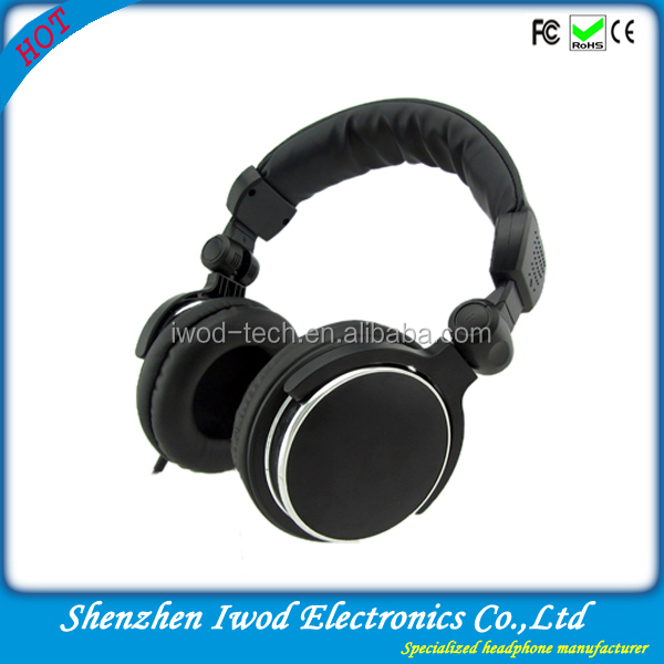 Products exported to dubai high-end new stylish dj studio headphone for wholesale