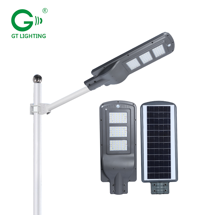 Chinese supplier SMD waterproof ip66 30w 60w 90w integrated all in one solar led street light