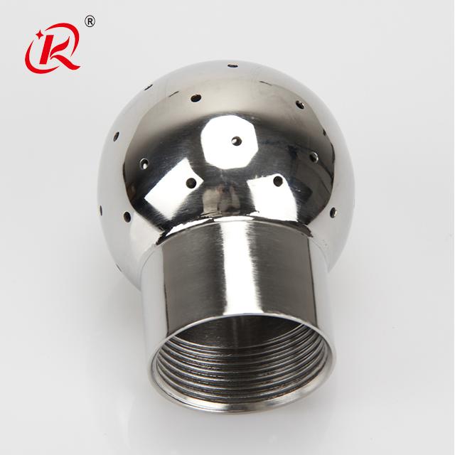 נירוסטה סניטרית חוט פנימי קבוע בטון צינור ניקוי כדור