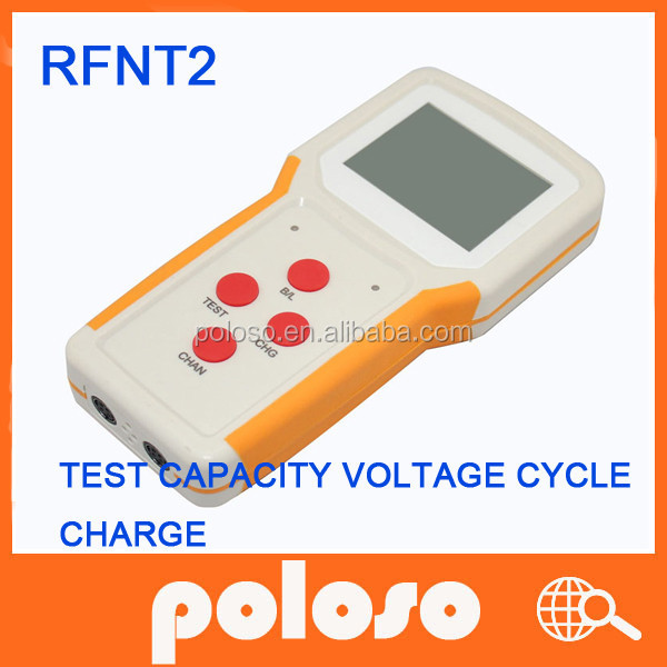 Digital Portable universal laptop battery tester with charge & discharge,small currents activation