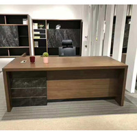 Factory price Dubai style office furniture office desk for boss