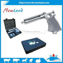 2015 NL212 50ml animal veterinary pistol metal gun type syringe