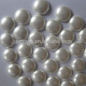 Top quality 2 mm round shape flatback hot fix korean resin epoxy stone for nailart