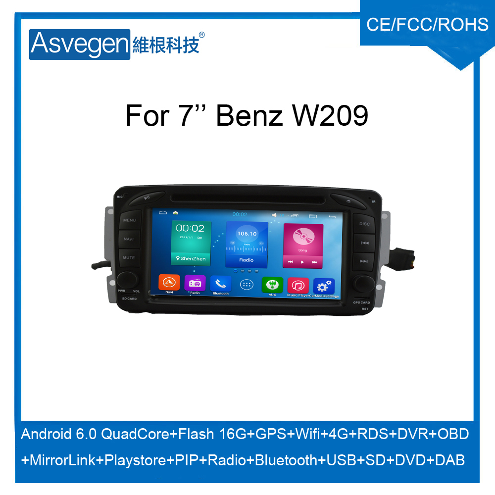 For Mercedes-benz Vito C-w203 A-w168 Android Dvd Player With Gps ...