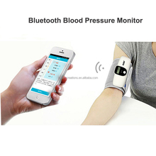2017 CE bluetooth 4.0 digital arm blood pressure monitor with color display