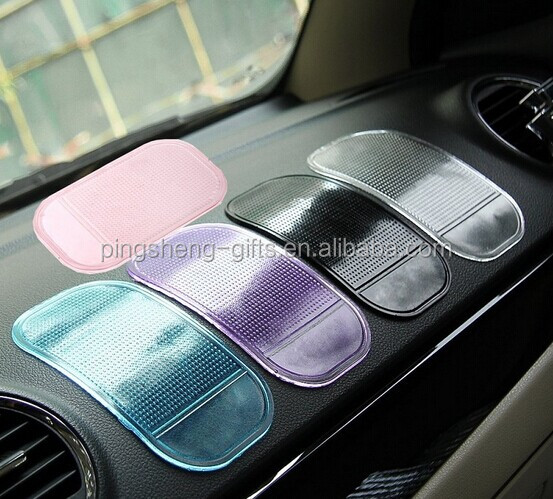 pvc rubber silicone PU Car Dashboard Mat