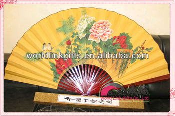 Large Chinese Decorative Wall Fans - Buy Decorative Wall Fan,Large ...