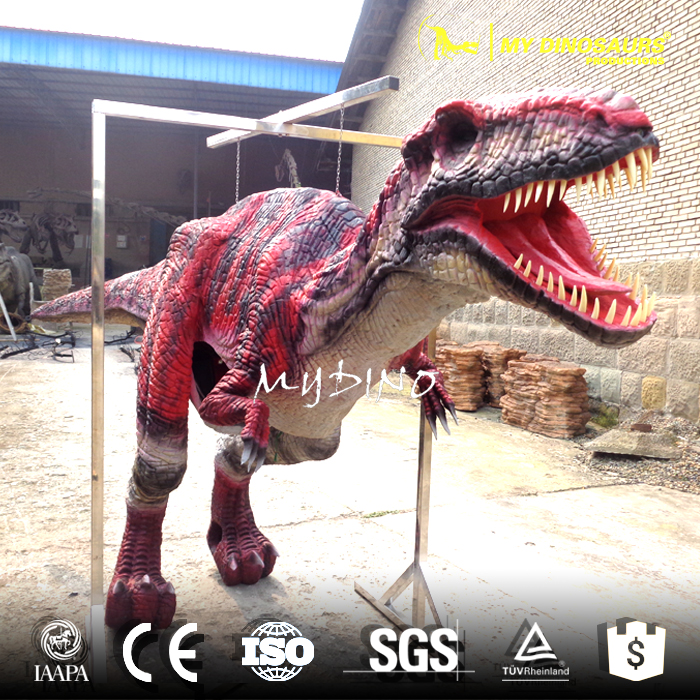 Location de costume de dinosaure de rapace adulte My-dino