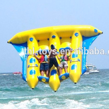 Used Commercial Inflatable Banana Boat/inflatable Flying Fish Banana Boat  For Sale - Buy Cheap Fishing Boats For Sale,Inflatable Water Banana