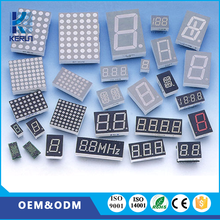 KERUN CE ROHS pixel white chip rgb led dot matrix display For Home appliance