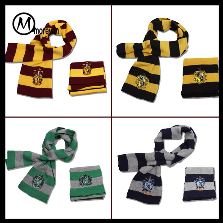 Morewin Marca Custom Moda Bufanda Cosplay Harry Potter Bufanda Para ...