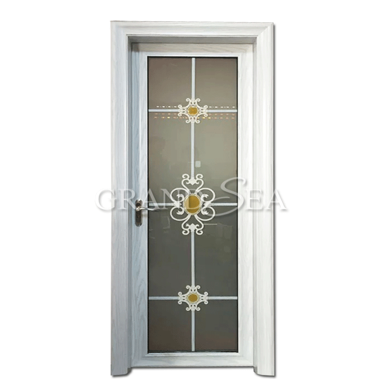 Fiber Swing Hot Sale Cheap Interior Bathroom Kitchen Doors Designs with Grill Design