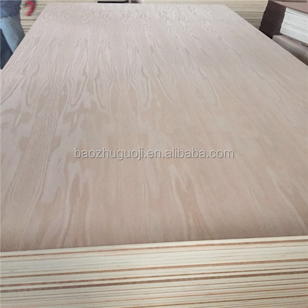Red oak plywood with high quality for furniture and block board E1 grade