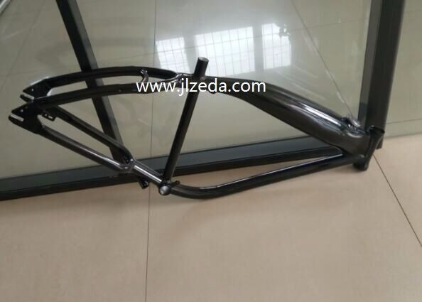 Bicycle Frame In Stock/chopper Bicycle Frame/black Bicycle Frame ...