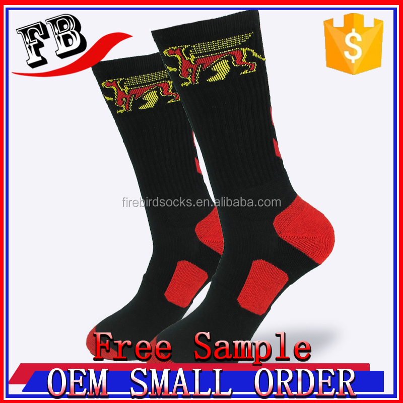 cotton crew sport sock unisex athletic copper sock knitted cotton athletic socks