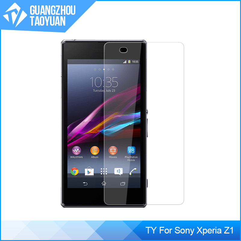 Premium Tempered Glass Screen Protector Protective Film For Sony Xperia Z1 L39H Screen Protector